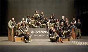 The members of Platoon unified on one picture